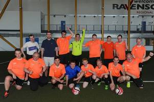 talented footballers with additional support needs enjoy first tournament win