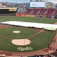 Bounty and Cincinnati Reds Baseball Partner to Unveil New Infield Tarp