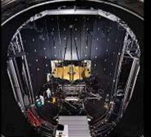 webbcam shows webb telescope chilling in chamber a