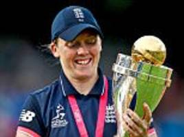 england captain heather knight aiming for the ashes