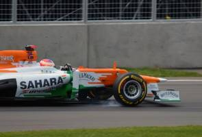 return to f1 qualifying like being thrown off a cliff - di resta