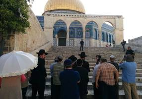 temple mount crisis 'coming to an end,' says liberman