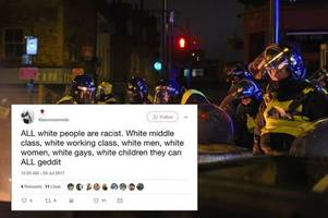 police launch investigation over all white people are racist tweet from cambridge university head of equality
