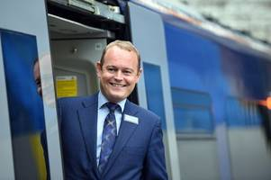 £10k car grant for scotrail boss who takes train to work every day