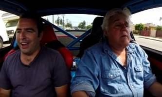jay leno drives restomod 1974 porsche 911 and gets overly excited