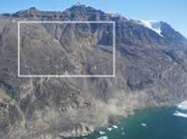 mega-tsunami in greenland was caused by landslide