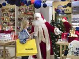 selfridges opens up its christmas store before the august