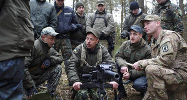 the next escalation: pentagon offers to arm ukraine, mccain delighted