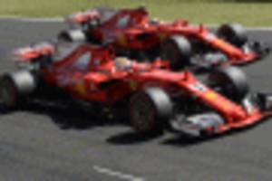 1-2 finish for ferrari at the 2017 formula 1 hungarian grand prix