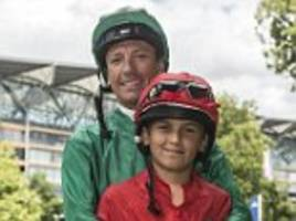 frankie dettori dreams of race-riding alongside son rocco