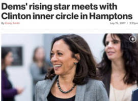 kamala harris is being aggressively manufactured for 2020 by wealthy clinton donors