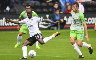 """fulham's sone aluko: """"we want to go one step further — promotion"""""""