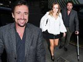 richard hammond and daughter isabella get dinner in london