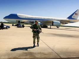 air force one will likely be replaced by jumbo jets abandoned by a bankrupt russian airline (ba)
