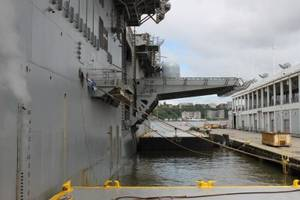 step aboard the uss kearsarge, the us navy workhorse that takes marines to war