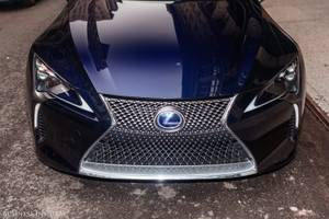 the lexus lc 500h takes luxury hybrid tech to a new level