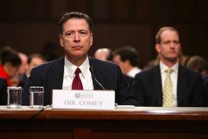 former fbi director james comey signs $2.5 million book deal