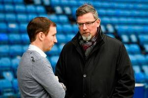 hearts appointing ian cathro was crazy and craig levein must take the blame for leaving club in a state of total disarray - keith jackson