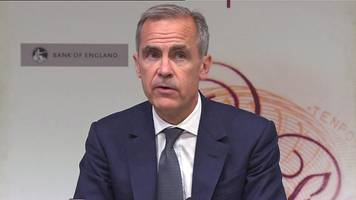 carney: households have cut back since brexit
