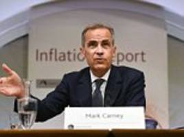 bank of england's carney signals interest rates will rise