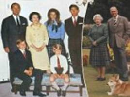 christmas cards sent by the queen and prince philip
