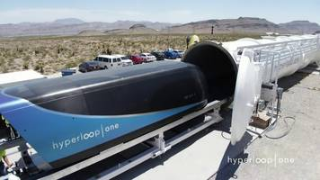 hyperloop one: passenger pod tested successfully