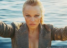 pamela anderson talks about semi-retirement and how she uses social media