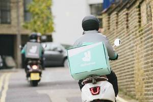 deliveroo is giving workers helmet cameras after a spate of london acid attacks