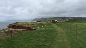 'broadchurch' beach: cliff fall-closed west bay path reopens