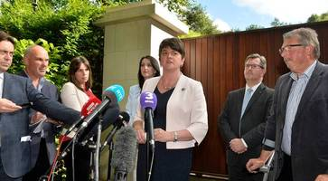 arlene foster urges taoiseach to help bring justice for kingsmill families