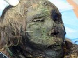 beautiful 900-year-old 'polar princess' is found in russia