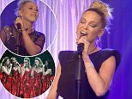 cbb's sarah harding doesn't sing as well as amelia lily