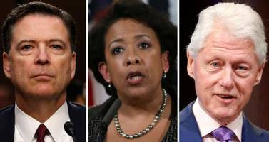 foia dump reveals collusion between lynch, fbi and media to bury the bill clinton meeting