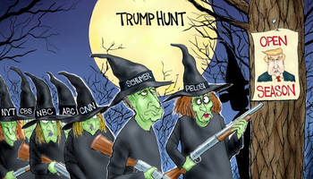 pcr: the witch hunt for donald trump surpasses salem