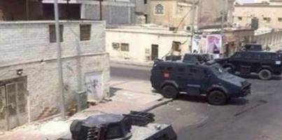 shocking footage of saudi siege against own citizens
