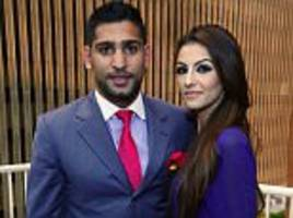 amir khan and wife faryal 'split up' in twitter bust up