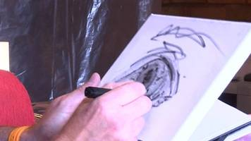 painting helps car salesman cope with ocd
