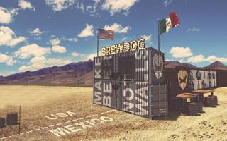 a big, beautiful... bar? brewdog plans to block trump's mexico wall