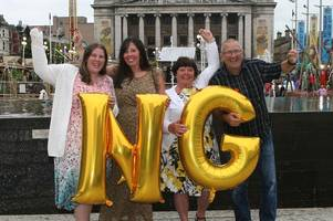 nottingham is the sixth luckiest place in the country according to the lottery