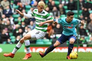 celtic manager brendan rodgers won't panic buy centre half as he insists nir bitton can fill breach