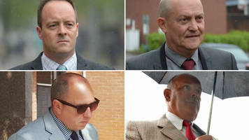 helicopter sex film police crew cleared of misconduct