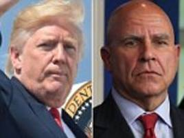 trumps offers supports for his national security adviser