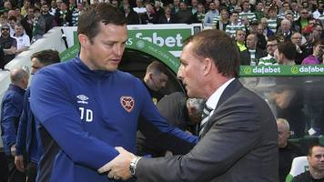 celtic 4-1 hearts: rodgers' comments on hearts were 'unacceptable' - daly