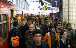 couldn't escape if i wanted to: waterloo travel chaos kicks off