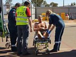 tourist survives three days in remote australian outback