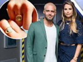 vogue williams and spencer matthews have matching rings