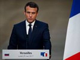 polls show french president macron popularity is sliding