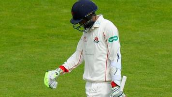 hampshire v lancashire: haseeb hameed falls cheaply as hampshire dominate