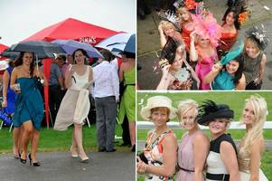look back at pictures from ladies day at beverley racecourse in 2007 and 2012