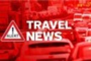 a12 blocked in romford after accident causes fuel spillage on...